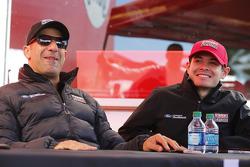 Tony Kanaan und Kyle Larson