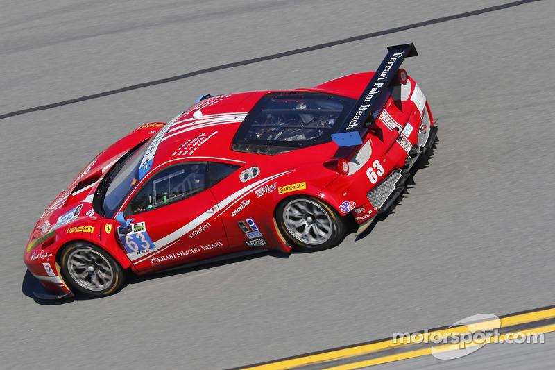 #63 Scuderia Corsa Ferrari 458 Italia: Білл Свідлер, Таунсенд Белл, Anthony Lazzaro, Джефф Сегал, Je