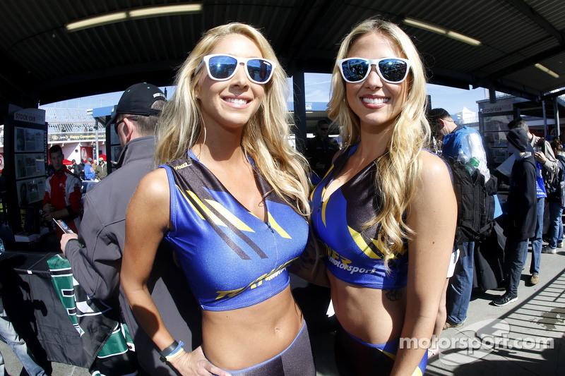 Bezaubernde Turner-Motorsport-Girls