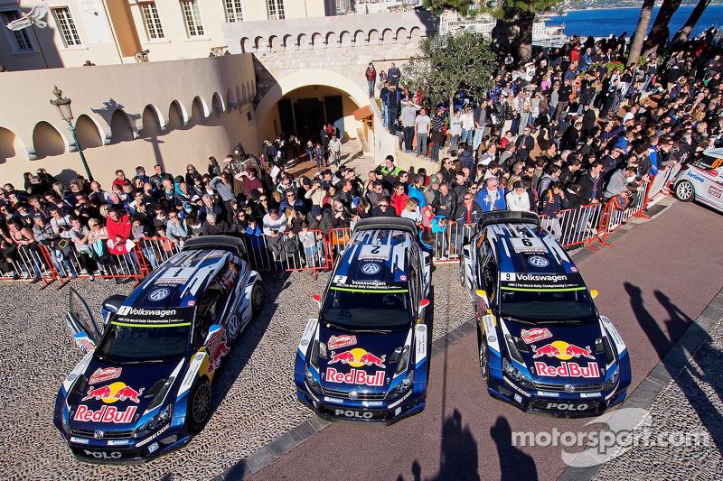 Tripletta per Volkswagen Motorsport