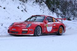 Romain Dumas y Denis Giraudet, con el Porsche 911 GT3 RS 4.0