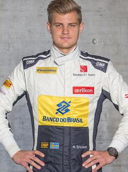 Marcus Ericsson, de Sauber F1