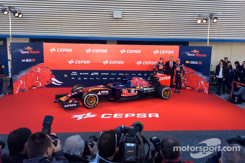 Max Verstappen und Carlos Sainz jr. mit dem Toro Rosso STR10