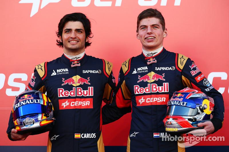 Vergne ve Kvyat'tan boşalan koltuğa Sainz ve Verstappen getirildi.