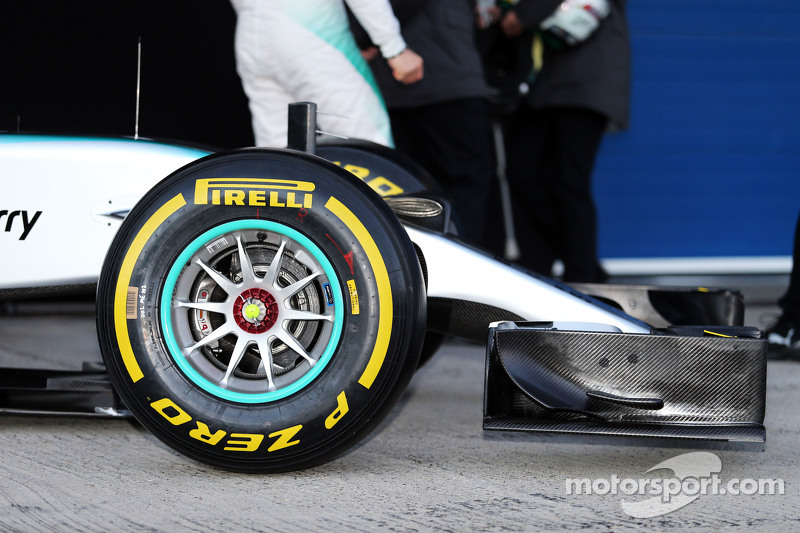 Mercedes AMG F1 W06 nosecone detail