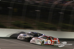 Kasey Kahne and Dale Earnhardt Jr. fight for the lead