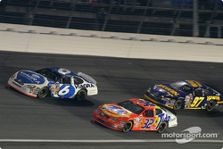 Sterling Marlin, Bobby Hamilton Jr. and Kurt Busch