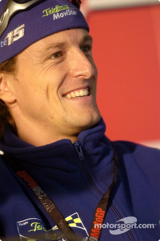 Sete Gibernau at Valencia GP