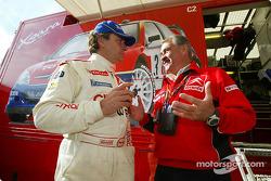 Carlos Sainz y Guy Fréquelin