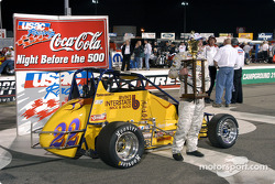 Ron Gregory dans la Victory Lane