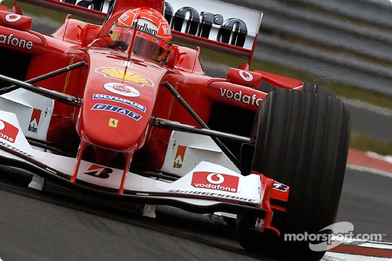 #62 GP de Hongrie 2004 (Ferrari F2004)