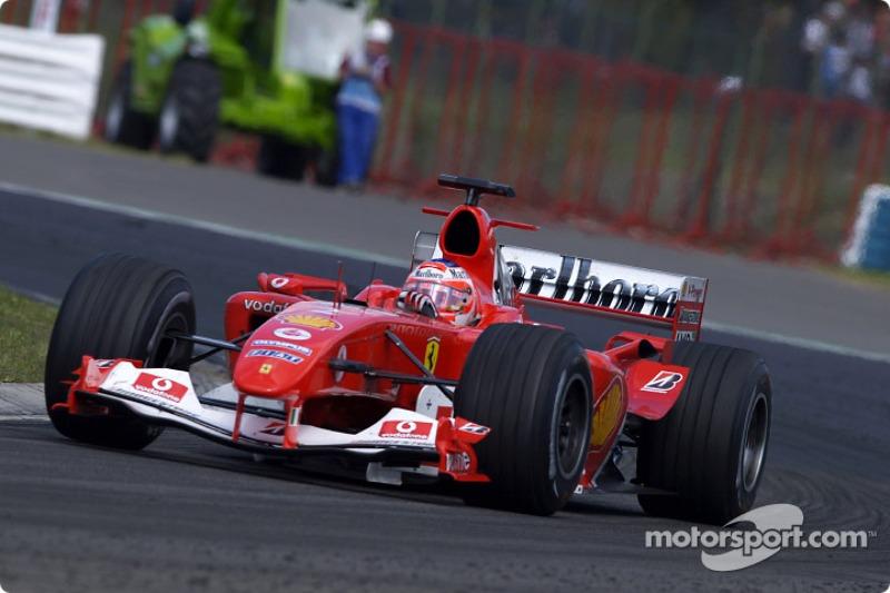2004 - Рубенс Баррікелло, Ferrari