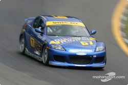 La Mazda RX-8 n°67 SpeedSource : Rich Walker, Gary Wollersheim