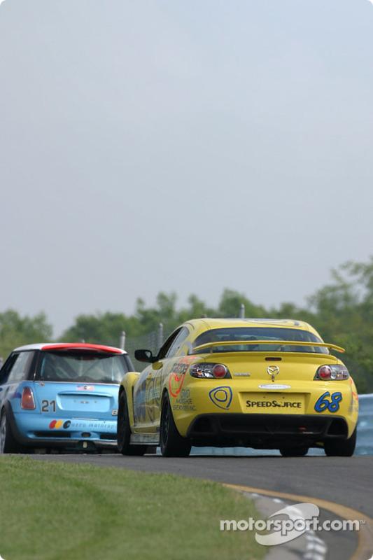 La Mazda RX-8 n°68 SpeedSource : Scott Schlesinger, David Tuaty, David Haskell