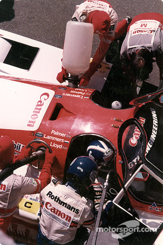 #14 GTi Engineering Porsche 956: Jonathan Palmer, Jan Lammers