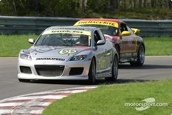 La Mazda RX-8 n°66 de SpeedSource (Marcelo Abello, Benoit Theetge)