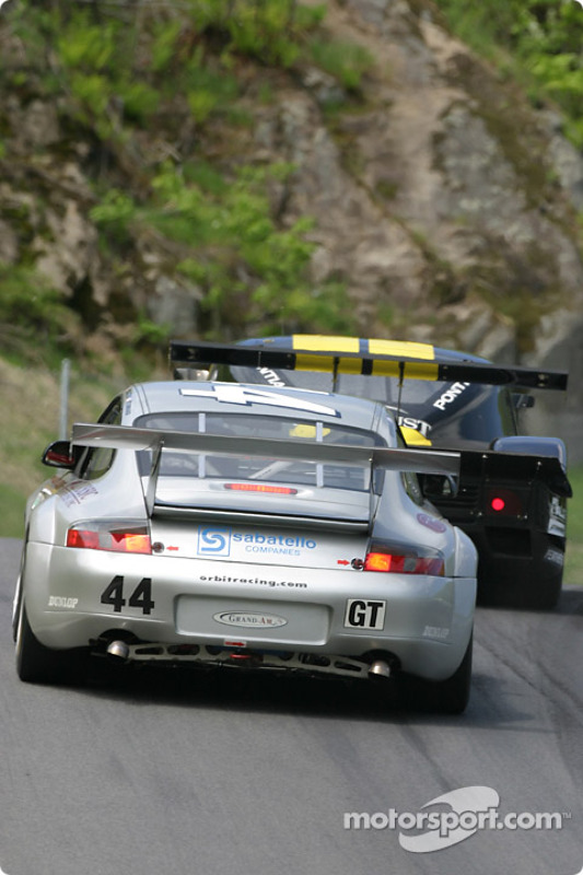 La Porsche GT3 RS n°44 du Orbit Racing (Jay Policastro, Joe Policastro, Mike Fitzgerald)