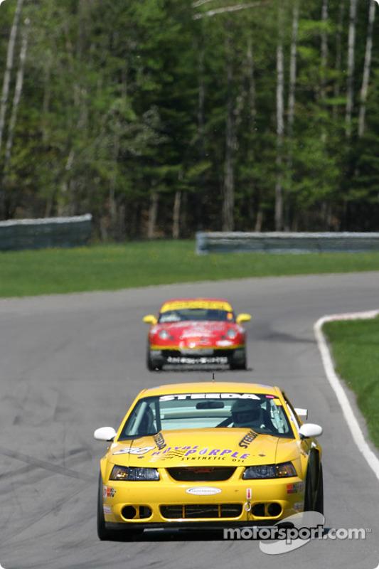 La Mustang Cobra n°30 du Shreiner Racing (John Shreiner, Jeff Lapcevich)