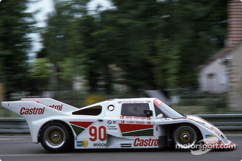 #90 Jens Winther URD C83 BMW: Jens Winther, David Mercer, Lars Viggo-Jensen