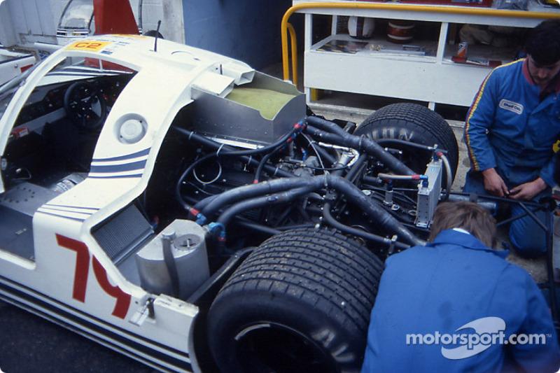 Engine of the #79 Ecurie Ecosse Ecosse C286 Rover
