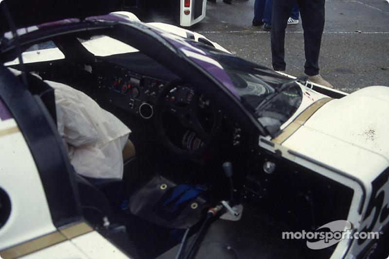Cockpit of #53 Silk Cut Jaguar Jaguar XJR6