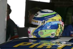 Helmet of Marcos Ambrose