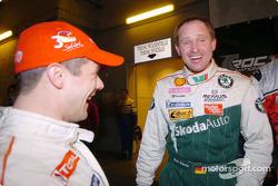 Armin Schwarz and Sébastien Loeb
