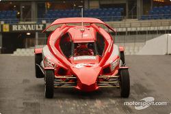 Michael Schumacher in the ROC car