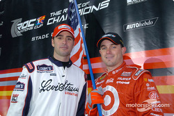 Jimmie Johnson and Casey Mears