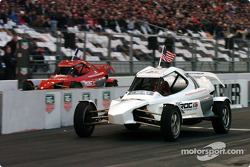 Quarter-final: Casey Mears and Jean Alesi