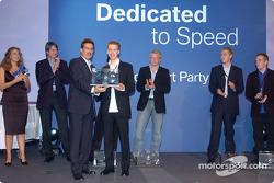 Sebastian Vettel y el Dr. Mario Theissen