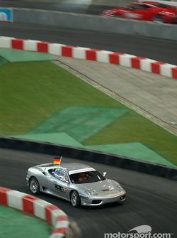 Semi-final: Michael Schumacher