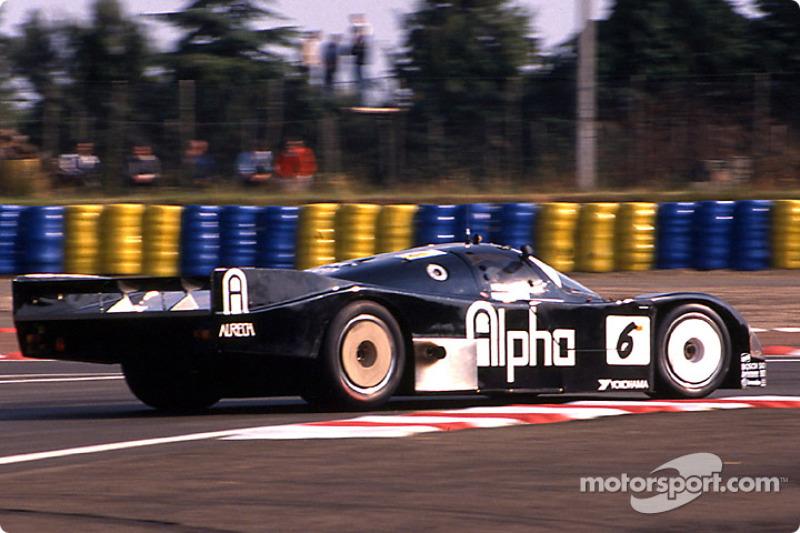 #6 Brun Motorsport Porsche 962C: Walter Lechner, Roland Ratzenberger, Maurizio Sala