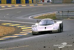 #62 Team Sauber Mercedes Sauber-Mercedes C9 : Jean-Louis Schlesser, Jean-Pierre Jabouille, Alain Cudini