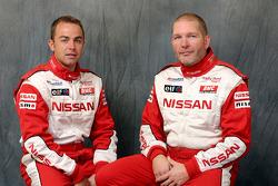 Nissan Rally Raid Team presentation: Giniel De Villiers and Jean-Marie Lurquin