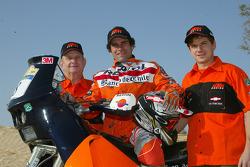 KTM team presentation: De Gavardo KTM rider Carlo de Gavardo