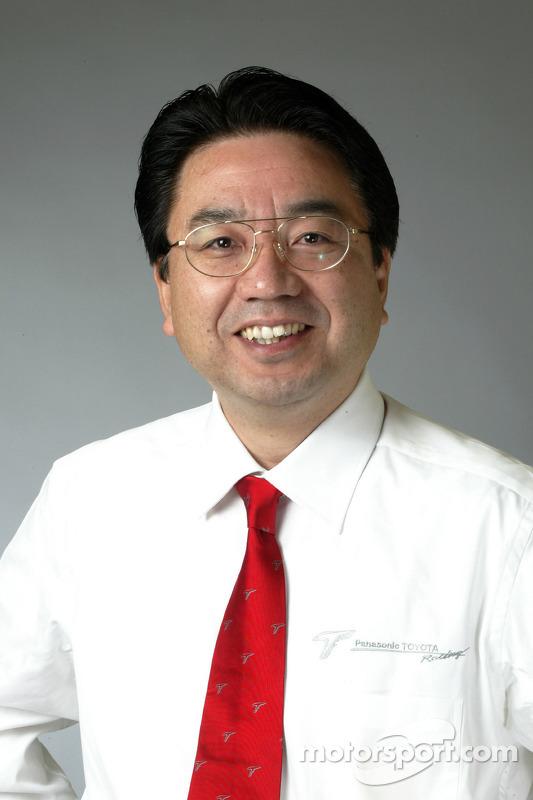 Yoshiaki Kinoshita, Genel Müdür, Motor Sport Division Toyota Motor Corporation, veVice-Başkanı Toyota Motorsport GmbH