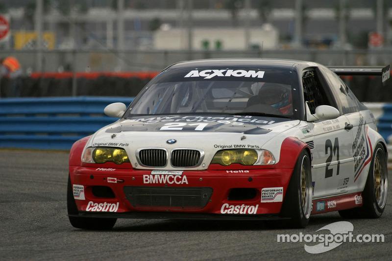 Prototype Technology Group BMW M3 : Chris Gleason, Ian James, Bill Auberlen, Joey Hand