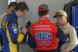 Kurt Busch and Jeff Gordon
