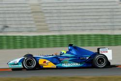 Felipe Massa prueba el nuevo Sauber Petronas C24