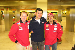 Manuel Marques Paulo and Benedi Rui Rodrigues back home in Portugal