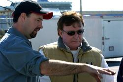 Richard Childress with crewman