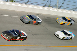 Kasey Kahne, Jeff Burton, Jeff Green and Rusty Wallace