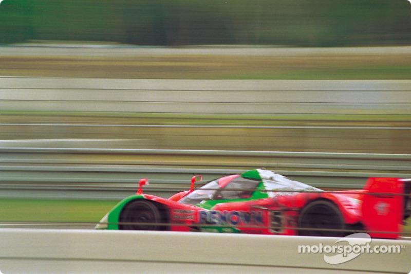 #5 Mazdaspeed Mazda MXR-01: Volker Weidler, Johnny Herbert, Bertrand Gachot, Maurizio Sandro Sala
