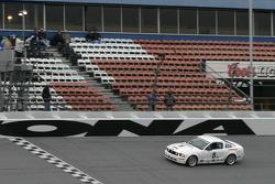 #5 Blackforest Motorsports Mustang GT: Ian James, Tom Nastasi takes the checkered flag