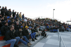 Drivers meeting on Saturday morning