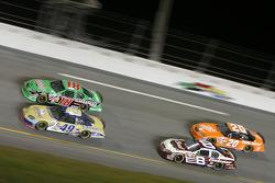 Ken Schrader, Bobby Labonte, Dale Earnhardt Jr. and Tony Stewart