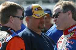 Jeff Burton and Kenny Wallace