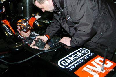 Pre lanzamiento de Minardi, Amsterdam