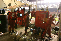 Activity in the CompUSA Chip Ganassi with Felix Sabates pit